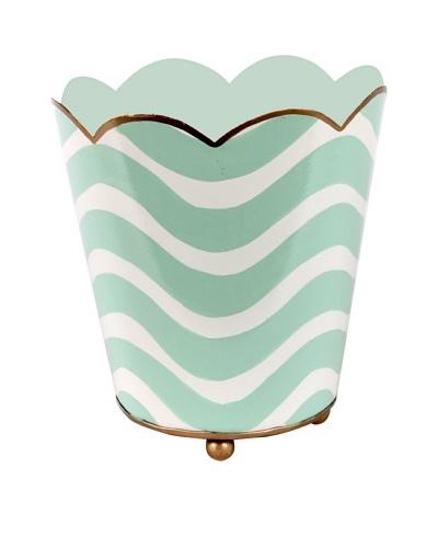 Jayes Breakers Aqua Decorative Cachepot