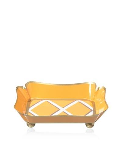 Jayes Ascott Lattice Orange Trinket Tray