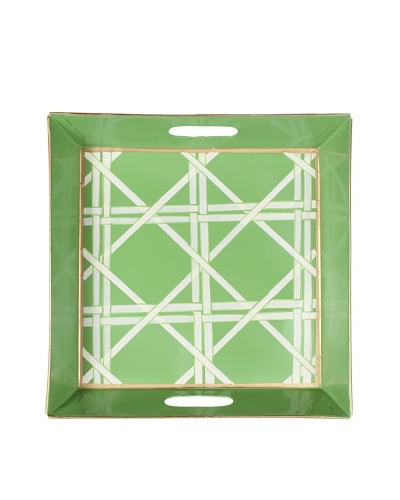 Jayes Cane Green Bedside Tray
