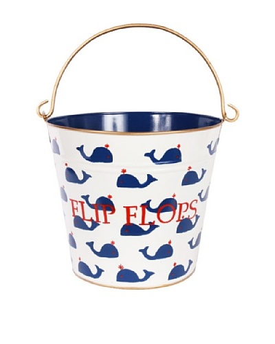 Jayes Whales Navy Flip Flop Pail