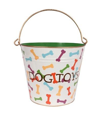 Jayes Dog Bones Multi Color Dog Toys Pail