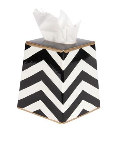 Jayes Chevron Black Tissue Cover