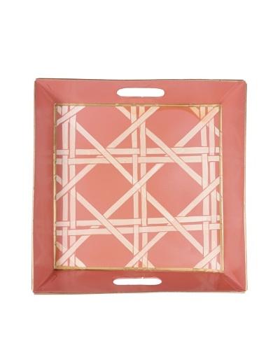 Jayes Cane Pink Bedside Tray