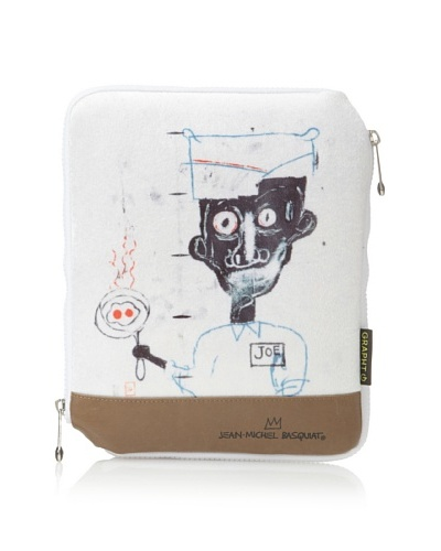 Jean-Michel Basquiat Joe Sleeve Case for iPad/iPad 2, Gray