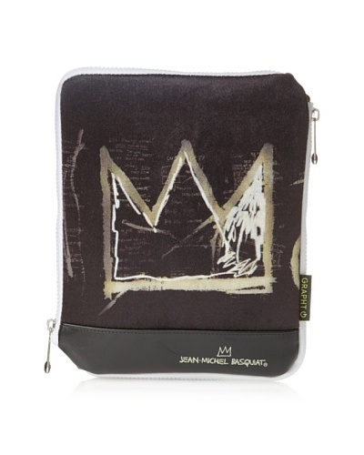 Jean-Michel Basquiat 600 Dollars Sleeve Case for iPad/iPad 2, Black