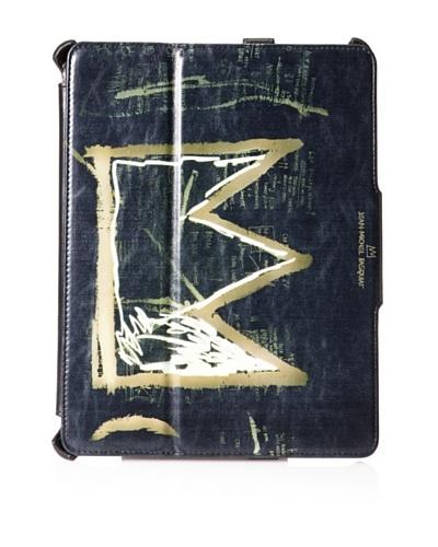 Jean-Michel Basquiat 600 Dollars Flip Cover for iPad 2/iPad 3rd Generation, Black