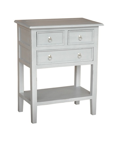 Jeffan Newton Side Table, Light Grey