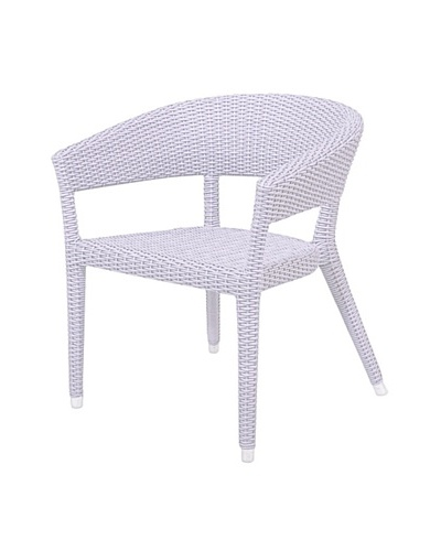 Jeffan Outdoor Omni Dining Chair, White