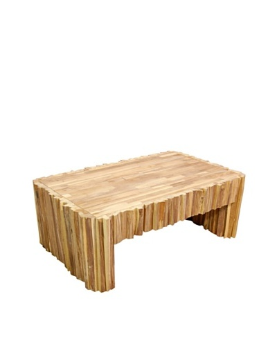 Jeffan Obi Rectangle Coffee Table, Natural