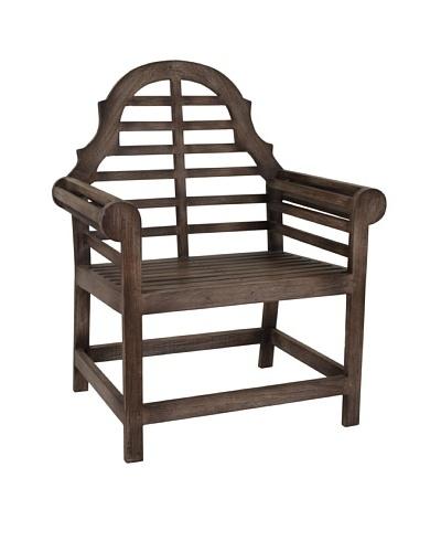 Jeffan Outdoor Georgina Arm Chair, Grey