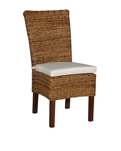 Jeffan Small Astor Abaca Farra Chair, Natural