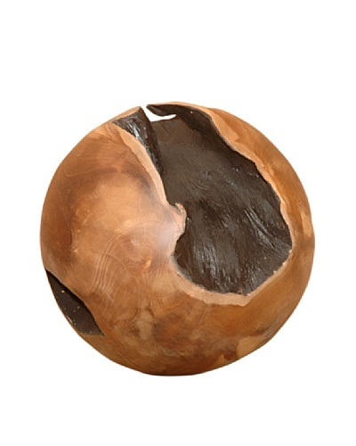 Jeffan Teak Ball Decoration