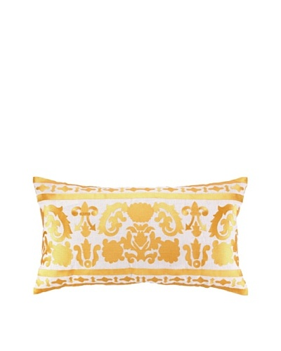 Jennifer Paganelli Lily Embellished Down Pillow, Gold, 14 x 26As You See