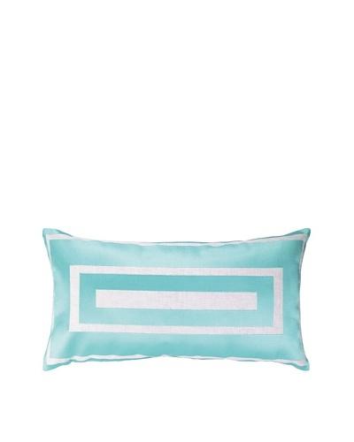 Jennifer Paganelli Hotel Monaco Embellished Down Pillow, Blue, 14 x 26