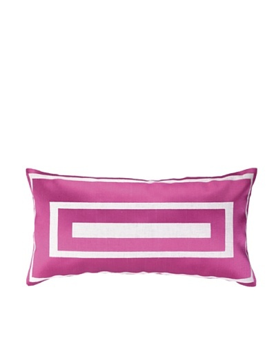 Jennifer Paganelli Hotel Monaco Embellished Down Pillow, Pink, 14 x 26
