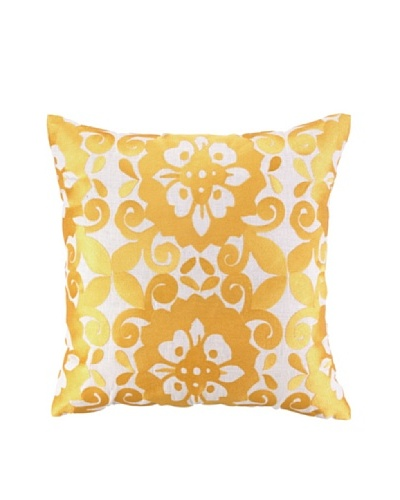 Jennifer Paganelli Cassandra Embellished Down Pillow, Gold, 20 x 20As You See
