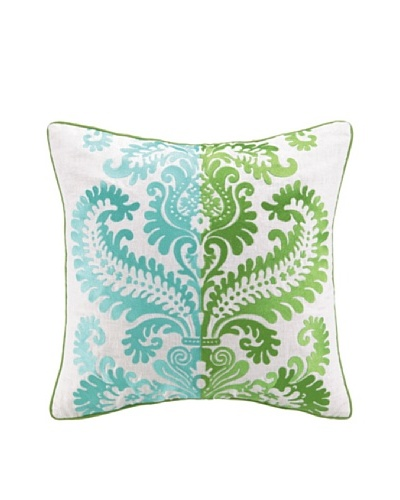Jennifer Paganelli Barcelona Amanda Pillow, Green