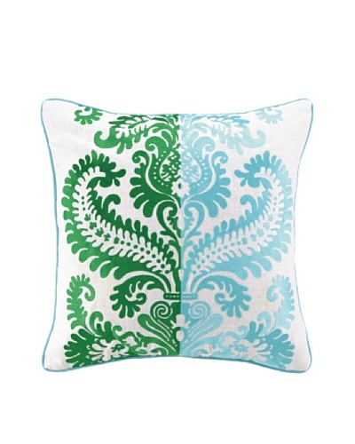 Jennifer Paganelli Barcelona Llana Pillow, Blue