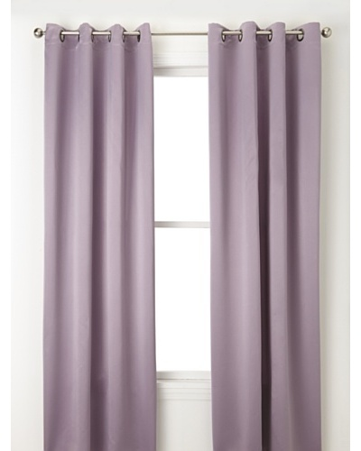 Jennifer Taylor Home Collection Set of 2 Edith Curtain Panels, Purple