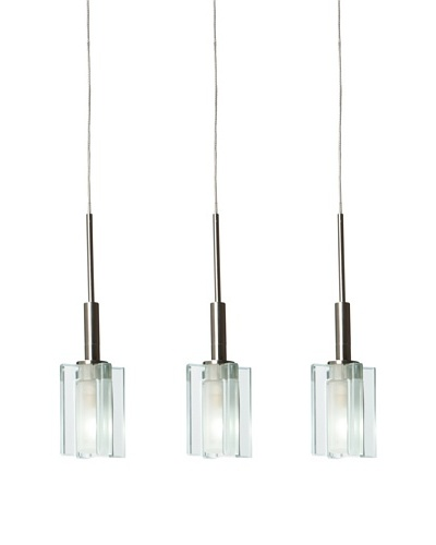 Jesco Lighting Akina Pendant, Nickel