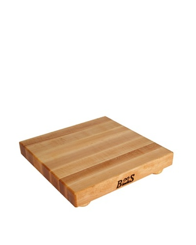 "John Boos Maple Cutting Board with Feet, 12"" Square"