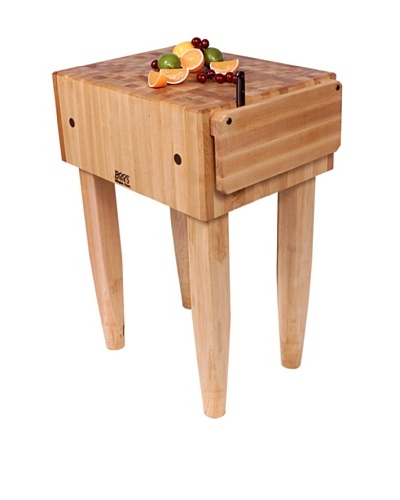 John Boos PCA Maple Butcher Block with Knife Holder