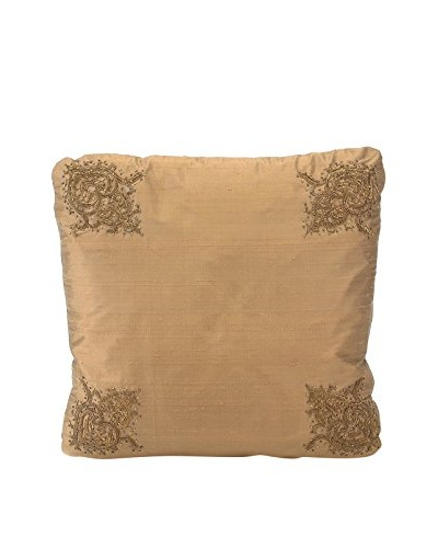 John Richards Collection Copper Silk Square Pillow