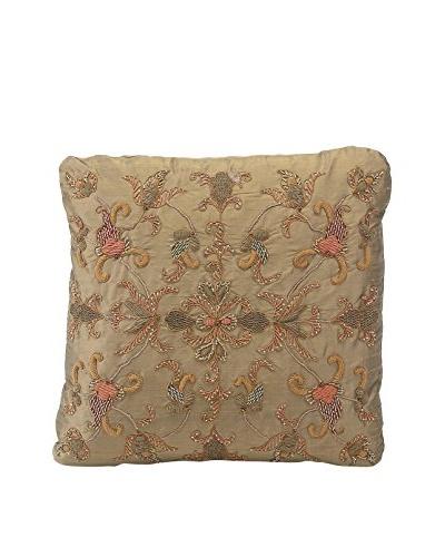 John Richards Collection Caramel Silk Pillow