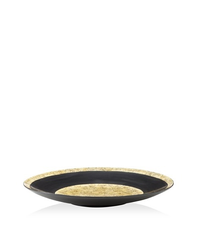John-Richard Collection Decorative Oversized Charger with Earth Center