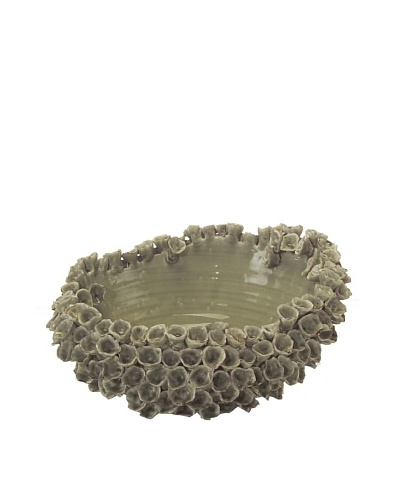 John-Richard Collection Corals Bowl, Green Ice