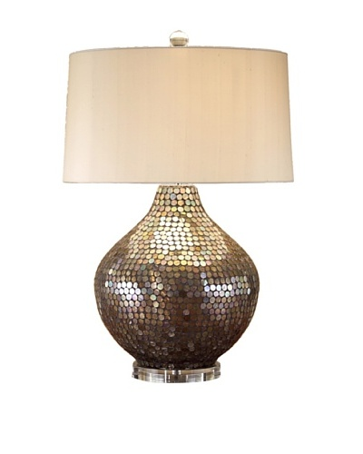 John-Richard Collection Metallic Mosaic Lamp