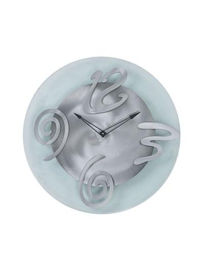 Jon Gilmore Hour Glass Clock [Silver]