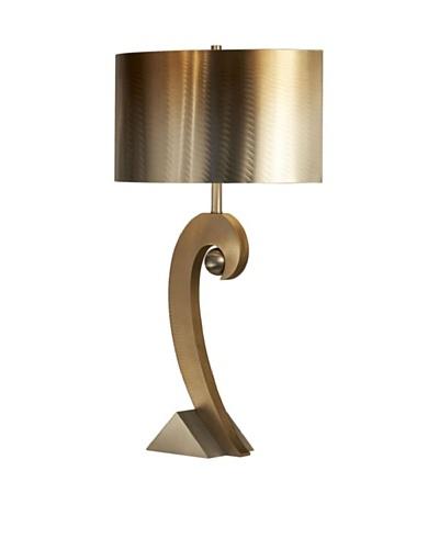 Jon Gilmore Swooshball Table Lamp, Silver/Bronze