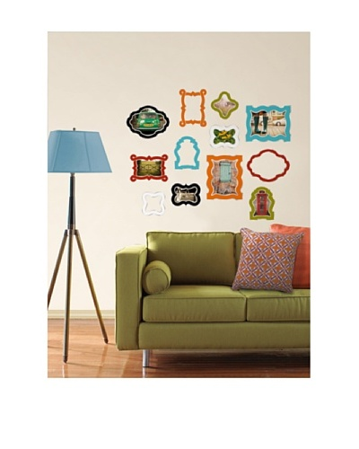 Enamel Frames Wall Art Kit