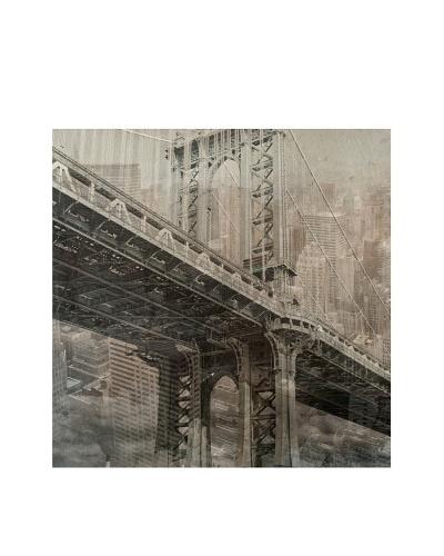 Jordan Carlyle Brooklyn Bridge on Canvas