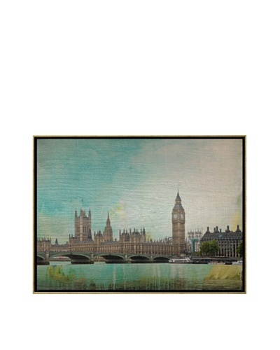 Jordan Carlyle London Calling Framed Art