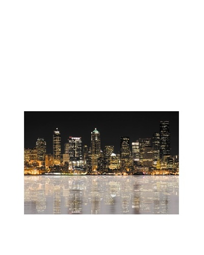 Jordan Carlyle Reflective City on Canvas