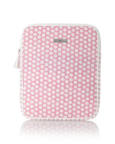 Julie Brown iPad Case [Pink Polka Dot]