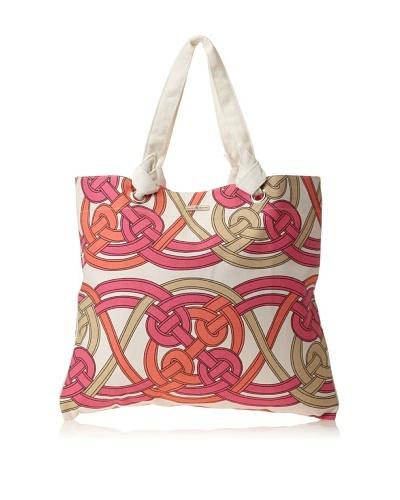 Julie Brown Reversible Shopper, Pink Voyage/Pink Skipper