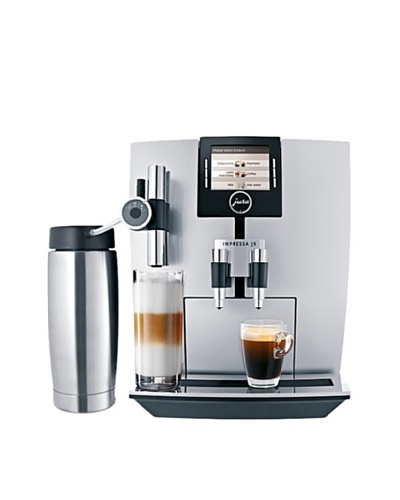 Jura-Capresso Impressa J9 One-Touch TFT Coffee Machine, Silver