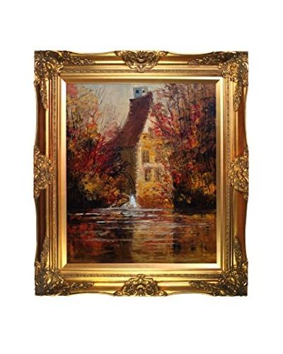 Justyna Kopania Old Mill II Framed Giclée on Canvas
