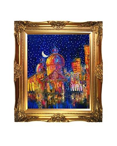 Justyna Kopania Moon (Venice) II Framed Giclée on Canvas