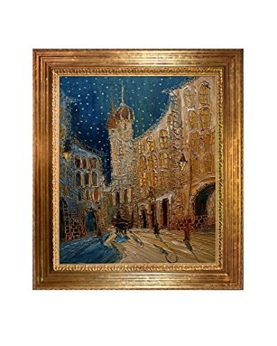 Justyna Kopania Old Town Framed Giclée on Canvas