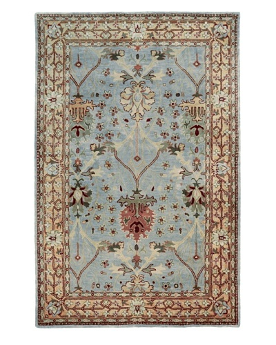 Kabir Handwoven Rugs Wonders of the World Rug [Blue Multi]