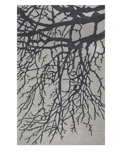 Kabir Handwoven Rugs Essential Nature Rug [Grey]