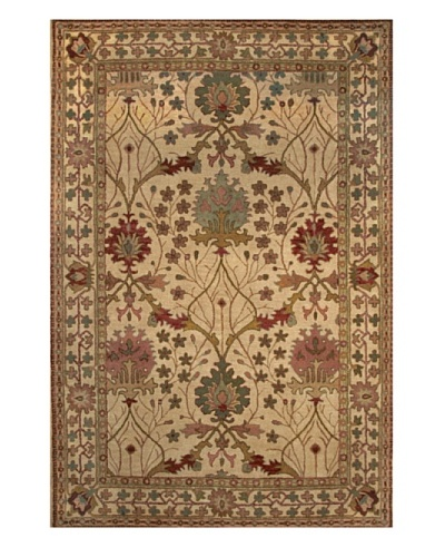 Kabir Handwoven Rugs Wonders of the World Rug [Beige Multi]