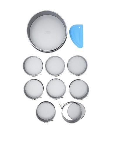 Kaiser Bakeware 10-Piece Noblesse Springform Pan and Scraper Set