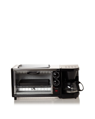 Kalorik Breakfast Set: 3-in-1 Coffee Maker/Oven/Griddle