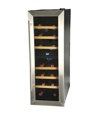 Kalorik 21-Bottle Wine Bar [Black/Silver]