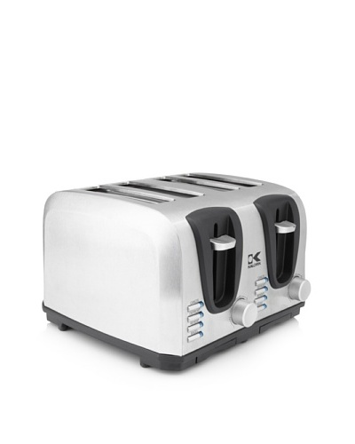 Kalorik Stainless Steel Toaster, 4-Slice